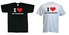 I LOVE MY GIRLFRIEND VALENTINES T-SHIRT - UNISEX ALL SIZES