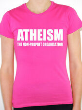 ATHEISM THE NON PROPHET ORGANISATION - Religion / Atheist Themed Women's T-Shirt