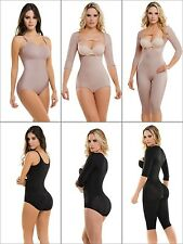 Post Surgery Stage 1,Liposuction Compression Garment,Faja Vedette 929 Black/Nude