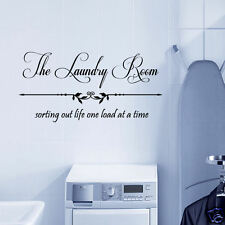The Laundry Room, Sorting Out Life One Load at a Time Vinyl Wall Quote Decal