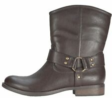 WOMENS AMERICAN EAGLE DRESS ANKLE BOOTS~ BROWN~WESTERN ~ SIZE 7 ~ NEW! IN BOX