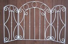 Wrought Iron Circle Garden Screen - Stand for Indoors or Outdoors
