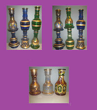 Large Egyptian Decorated Replacement Shisha & Hookah Base&Vase&Glass !!!!!!!!!!!