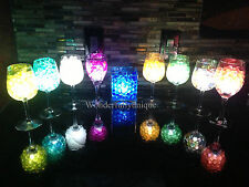 100 gm Hydro Eco Pearl Orbeez Deco Water Bead Ball & 10 LED Submersible Light