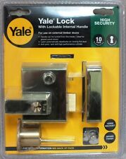 YALE FRONT DOOR LOCK No.1 / No.2 (60mm/40mm) Double Locking Security Nightlatch