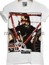 T-Shirt Homme Araina  Bike De Rosa Fashion Lady Free Style Tendance Dispo M-L