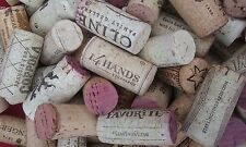 Lot of 25 Used real Red and White Wine Corks, no synthetics, no champagnes