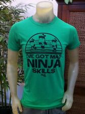 Fruit Ninja I Phone App Mens TShirt I've Got Mad Ninja Skills NWT Free Shipping
