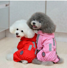 Puppy Pet Dog Summer Clothes Clothing Raincoat XXS XS S M L For Small dog