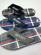 MENS FLIP FLOPS SANDALS New Free Shipping Black Blue Grey SIZE 7,8,9,10,11,12,13