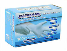 New Latex Powdered Gloves, Clear White,  (1000/Case) FREE SHIPPING (Medical)