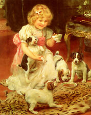 Art Print - Tea Time - Arthur John Elsley 1861