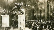 Art Print - Billy Sunday - George Wesley Bellows 1882 1925