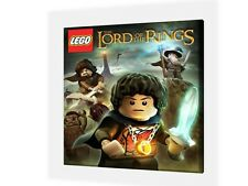 "LEGO LORD OF THE RINGS  - CANVAS PICTURE 10"" x 10"" - ONLY  £7.99 - 6 Designs"