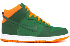 Nike Dunk High 317982 303 New Mens Green White Basketball Athletic Running Shoe