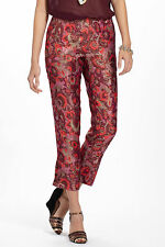 ANTHROPOLOGIE Paisley Brocade Crops Pants By Elevenses Various Sizes NWT