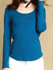 NWT Tommy Hilfiger Woman Top, Tori Long-Sleeve Henley Size From Medium to Large