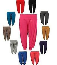 NEW WOMENS PLUS AND SMALL SIZE ALI BABA FULL HAREEM TROUSERS HAREM PANTS 8-30