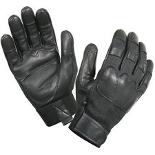 Black Goatskin Cut Resistant Lining Search Tactical Duty Glove Gloves