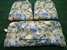REPLACEMENT CUSHION SET FOR INDOOR/OUTDOOR WICKER FURNITURE (FLORALS)