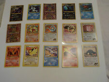 Rare Holo Pokemon Cards. Gym Heroes, Japanese, Promo Shiny.