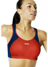 SHOCK ABSORBER SPORTS BRA - B4490 - RED/BLUE/WHITE - BRAND NEW - LEVEL 4
