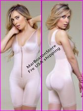 Vedette 944, Post Surgery Stage 1, Front Zipper Compression Garment,Nude - Black