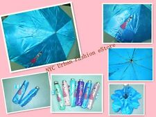 "44""Open Size w. Fashion Cute Cartoon Girl Print+UV Protection Sun/Rain Umbrella"