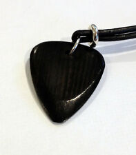 Timber Tones Exotic Wood Guitar Pick Necklace - Wooden Plectrum - Great Gift
