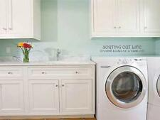 Sorting Out Life One Load at a Time laundry room vinyl wall art decal sticker