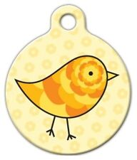 CUTE CHICK - Custom Personalized Pet ID Tag for Dog and Cat Collars