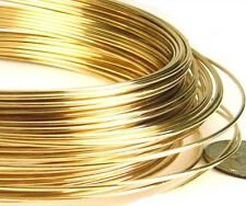 18 gauge yellow 14k gold filled round wire half hard beading wrapping metal wire