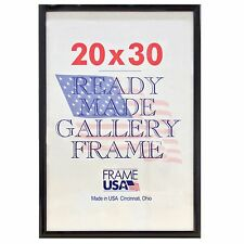 20x30 Deluxe Poster Frame Pack of 6 Frames - Black, Silver or Gold