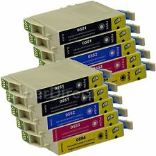 10 Generic Replacements for Epson T0556 Printer Ink Cartridges. UK VAT Invoice.