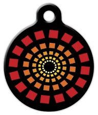 RED LIGHT - Custom Personalized Pet ID Tag for Dog and Cat Collars
