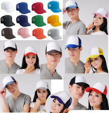 Unisex Classic Trucker Baseball Golf Mesh Cap Hat vintage many colors adjust