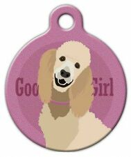 GOOD GIRL - STANDARD POODLE - Custom Personalized Pet ID Tag for Dog Collars