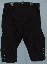 Plus-sized Broad Fall front Breeches Cotton Twill Colonial POTC Pirate 18th Cent