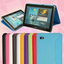 """Ultra slim PU Book Cover Case for Samsung Galaxy Tab 2 7.0"""" P3110 P3100 Tablet"""