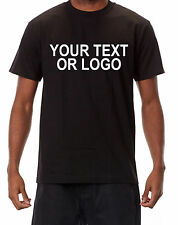 Custom Personalized T Shirt - Put Your TEXT or LOGO Lots of Colors Available