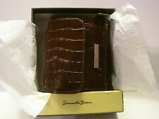 Samantha Brown Cash-Card-Coin Leather Accordion Wallet ~ HSN Customer Pick!