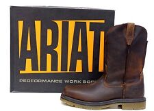 Safety STEEL-Toe 'Rambler' EH Rated Pull-On Work Boots Ariat Men's 10008642