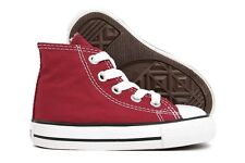 Converse Ct Hi TD Maroon 707527F Toddlers Baby New Casual Walking Shoes
