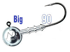 Mustad Big Game Jig Heads / size: #7/0 - 10-100g / 20pcs. per pack!