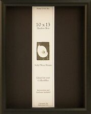 10 x 13 Shadow Box Elite Picture Frame - Available in Black, Cherry or Honey
