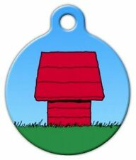 RED DOG HOUSE - Custom Personalized Pet ID Tag for Dog and Cat Collars