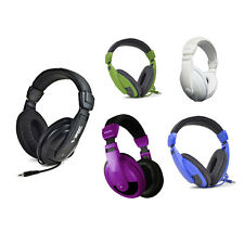 Vibe Sound VS-750-DJ Noise Reduction Stereo Headphones - In 9 Stylish Colors!