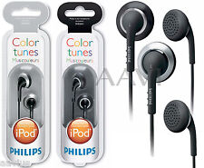 Philips SHE2641 Earbuds Headphones for Galaxy S4 S2/3 iPhone 5 4 3 iPod Zune MP3