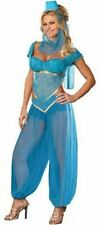 BELLY DANCER BOLLYWOOD JASMINE GENIE ARABIAN PRINCESS LADIES FANCY DRESS COSTUME