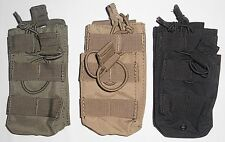 Condor MA42 5.56mm Single STACKER Mag Pouch Magazine MOLLE OD Black Coyote 223